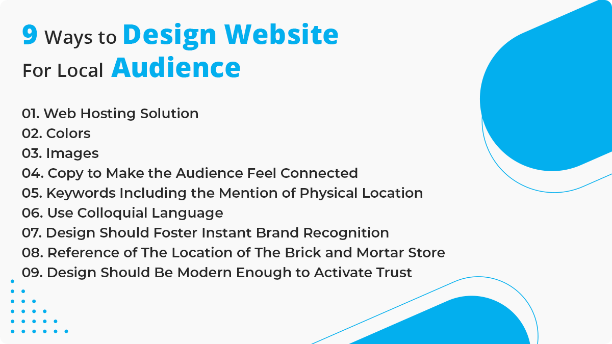 9 Ways to Design Website for Local Audience