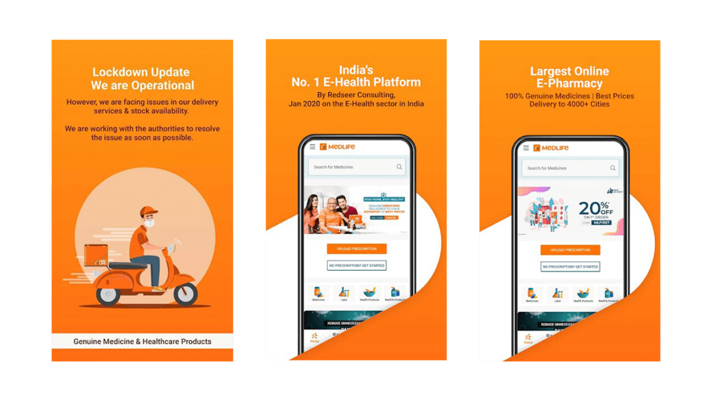 medlife- Best Pharmacy Apps for Android and iOS in 2020