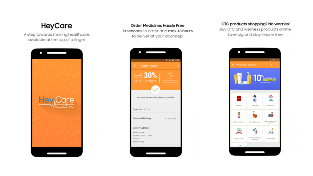 HeyCare- Best Pharmacy Apps for Android and iOS in 2020