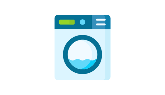 Laundry app features