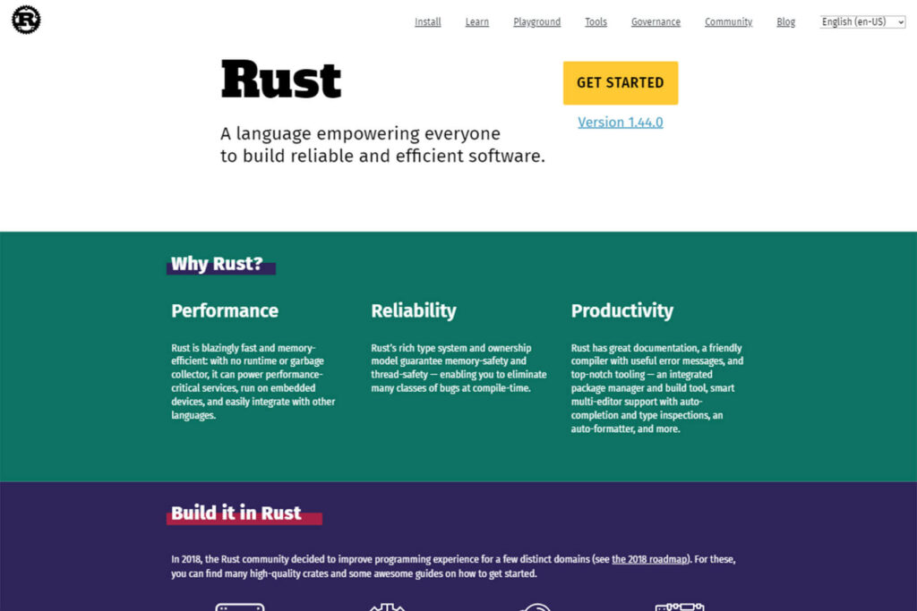 Rust- Development Of Mobile App With Coding And Without Coding