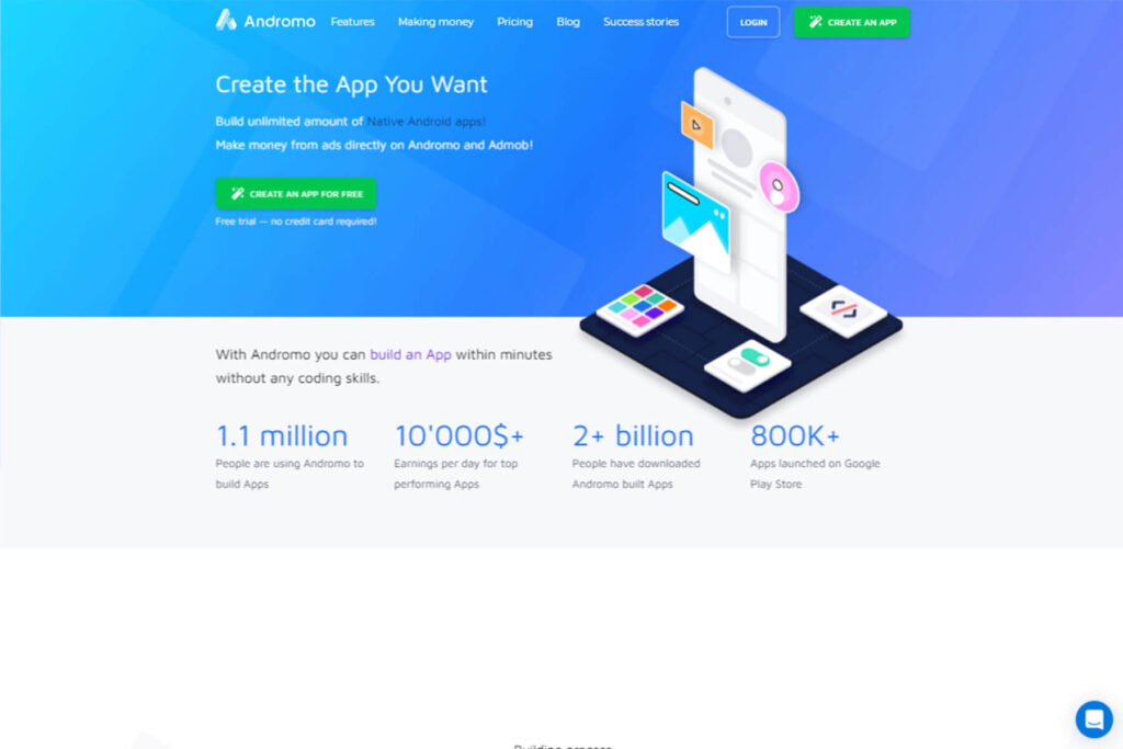 Andromo App Maker- Development Of Mobile App With Coding And Without Coding