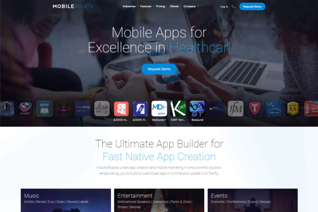 Mobile Roadie- Development Of Mobile App With Coding And Without Coding