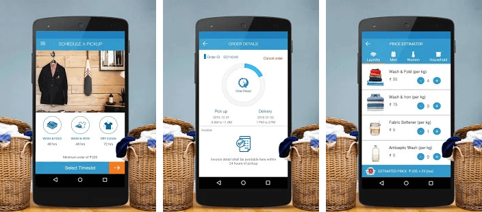 Pick My Laundry- The Best Laundry Applications Trending Around The World