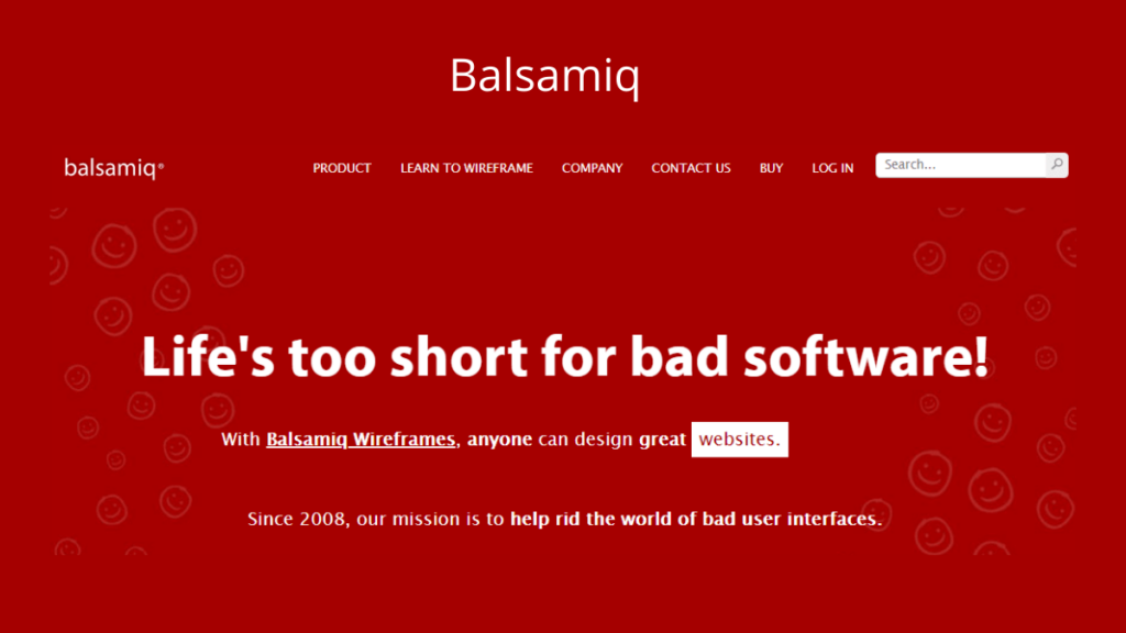 Balsamiq- Best Mobile App UI Design Tools