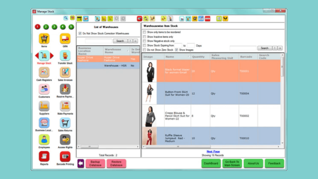 HDPOS Smart- 10 Best Retail Management Softwares of All Times