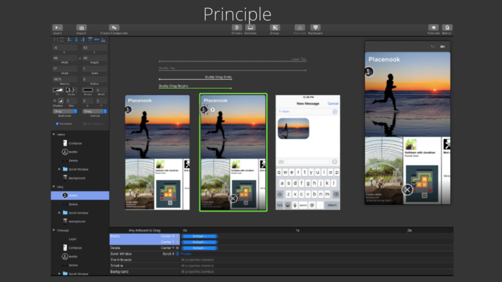 Principle- Best Mobile App UI Design Tools