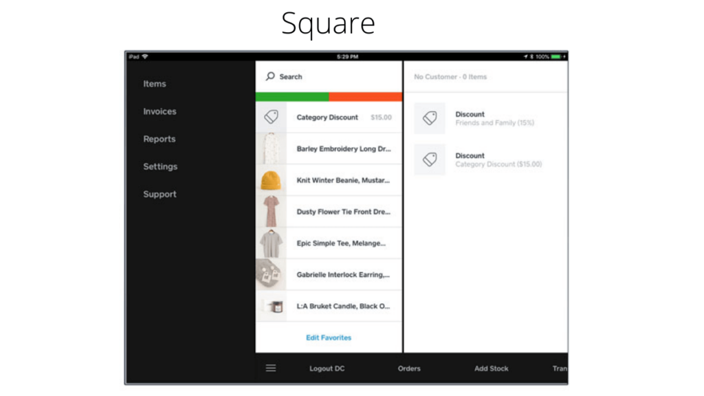 Square- 10 Best Pharmacy Software For Improved Medical Practices