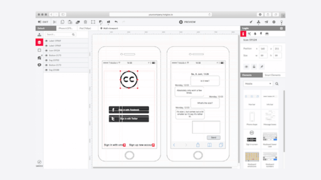 hotgloo- Best Mobile App UI Design Tools