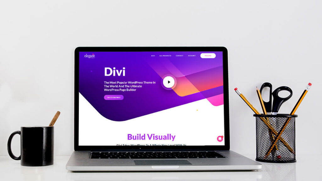 Divi- Best WordPress Themes for Small Business
