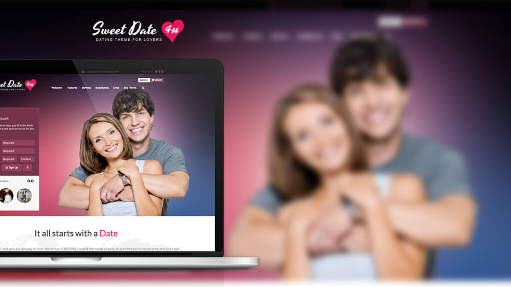 Sweet Love- Best Word Press Theme For Dating Website