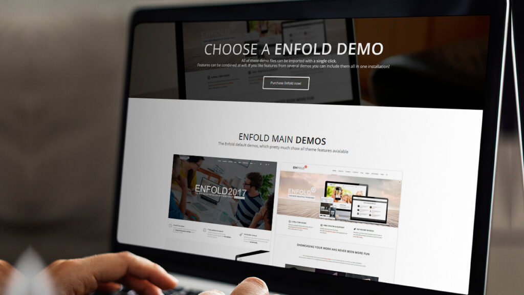 Enfold- Best WordPress Themes for Small Business