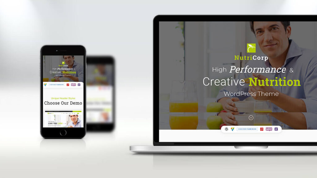 Nutricorp- Best WordPress Theme for Health and Nutrition