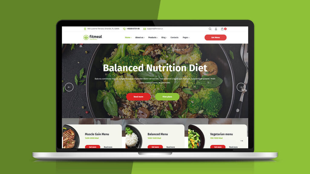 Fitmeal- Best WordPress Theme for Health and Nutrition