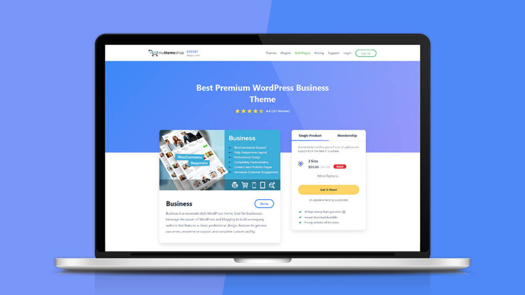 Business- Best WordPress Themes for Small Business