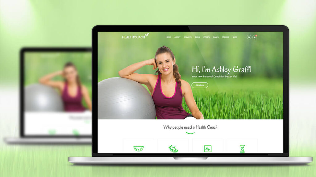 Health-Coach- Best WordPress Theme for Health and Nutrition