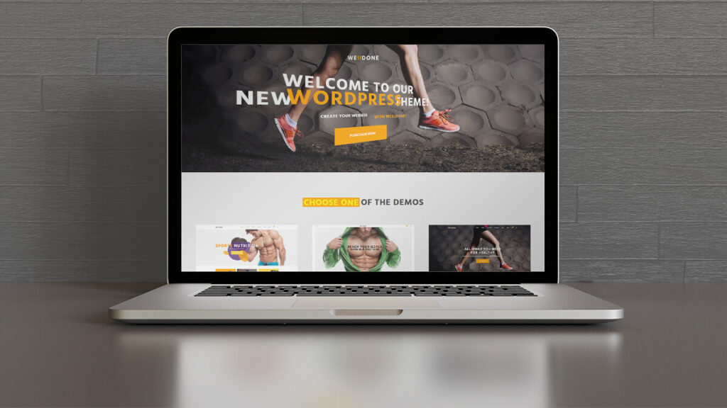 Welldone- Best WordPress Theme for Health and Nutrition