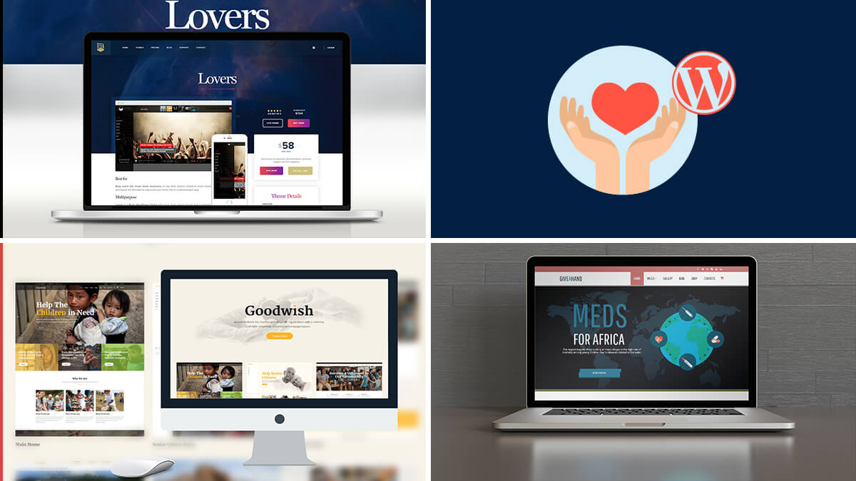 Best WordPress Theme For Charity And NGO Websites