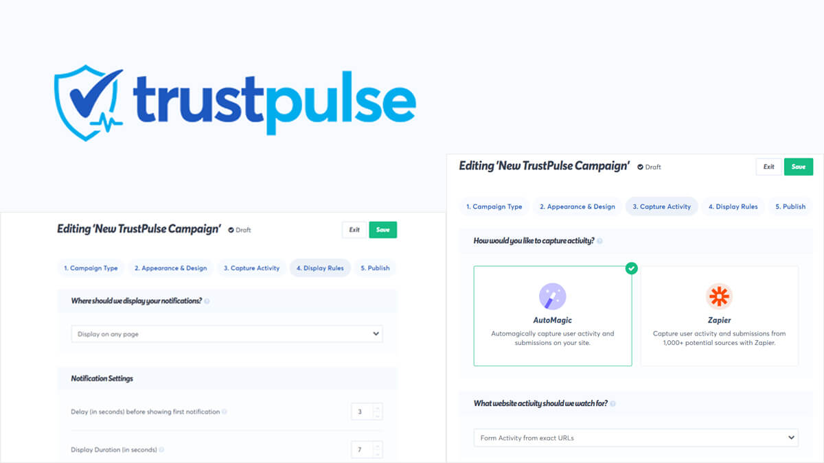 Trust Pulse- Best Features Of Woocommerce