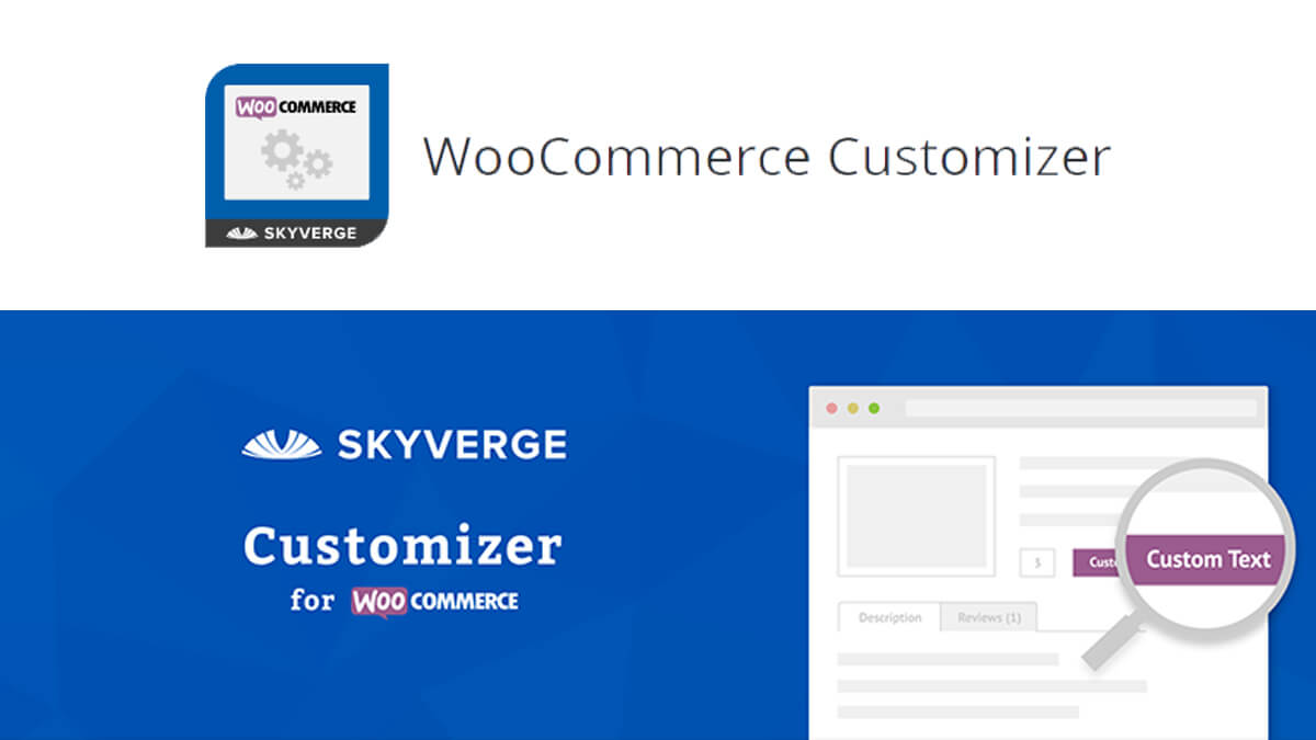 WooCommerce Customizer- Best Features Of Woocommerce