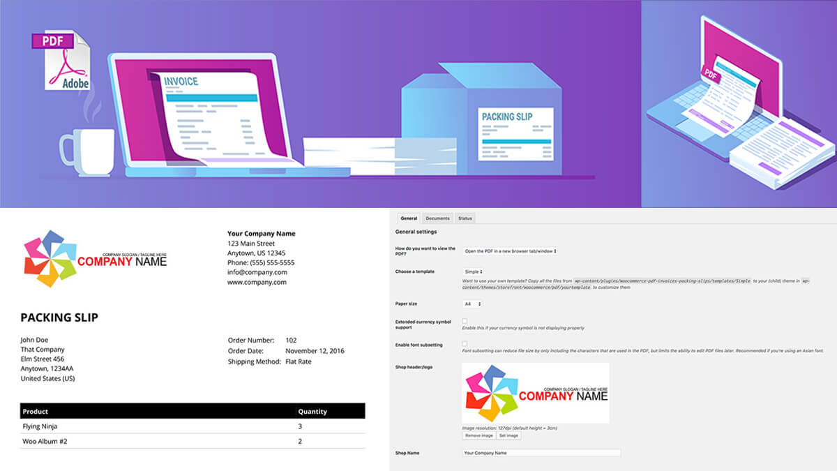 WooCommerce PDF Invoices & Packing Slips- Best Features Of Woocommerce