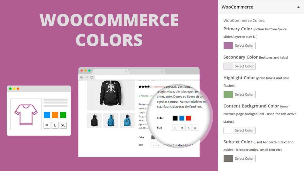 WooCommerce Colors- Best Features Of Woocommerce