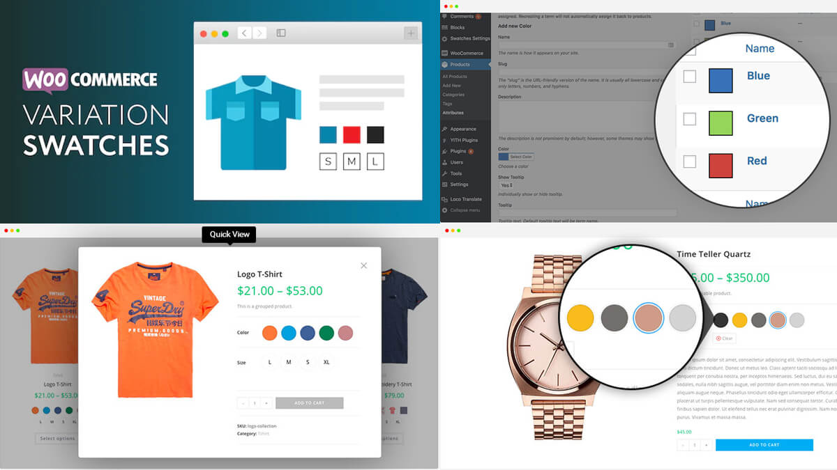 Variation Swatches for WooCommerce- Best Features Of Woocommerce
