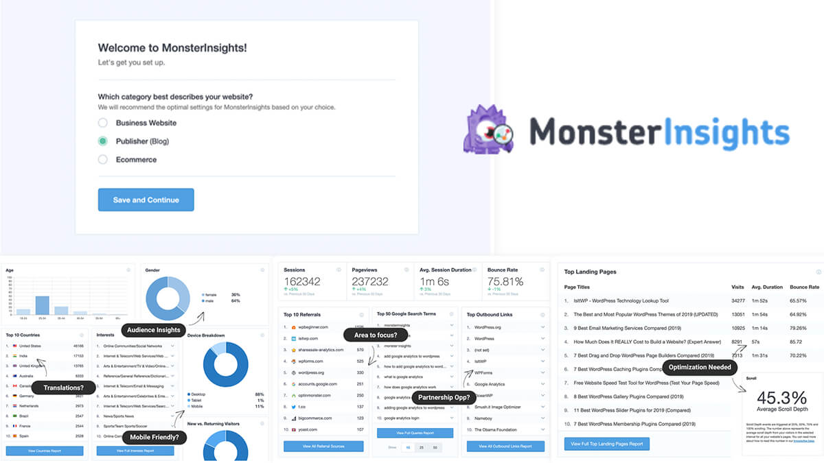 MonsterInsights- Best Features Of Woocommerce