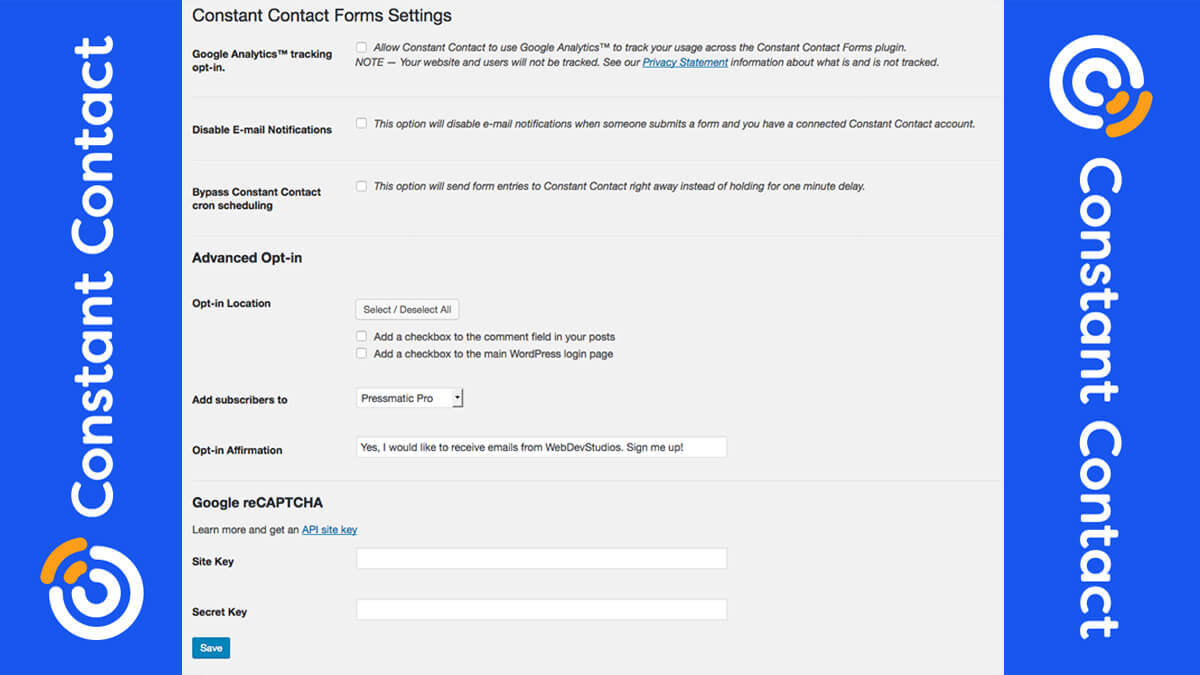 Constant Contact- Best Features Of Woocommerce