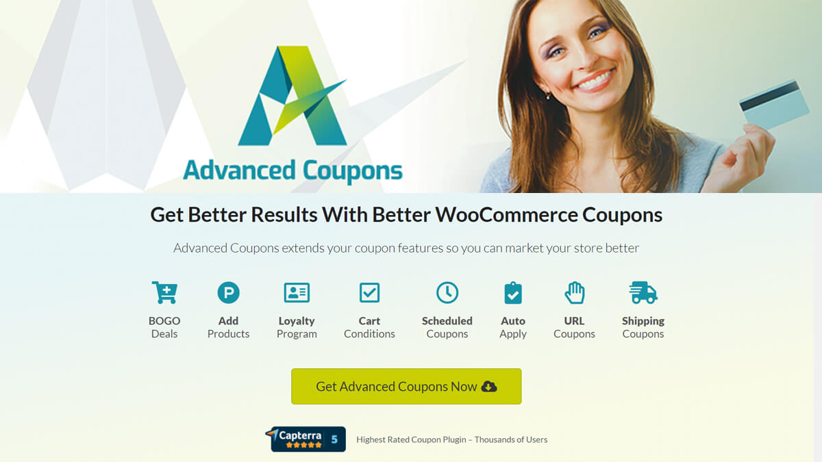 Advanced Coupons- Best Features Of Woocommerce