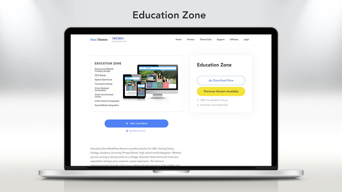 Education Zone- How Can I Find A WordPress Theme For My Education Website?