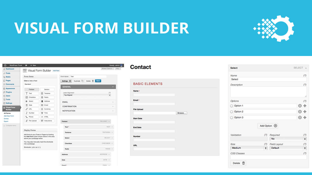 Visual Form- Best WordPress Contact Form Plugins