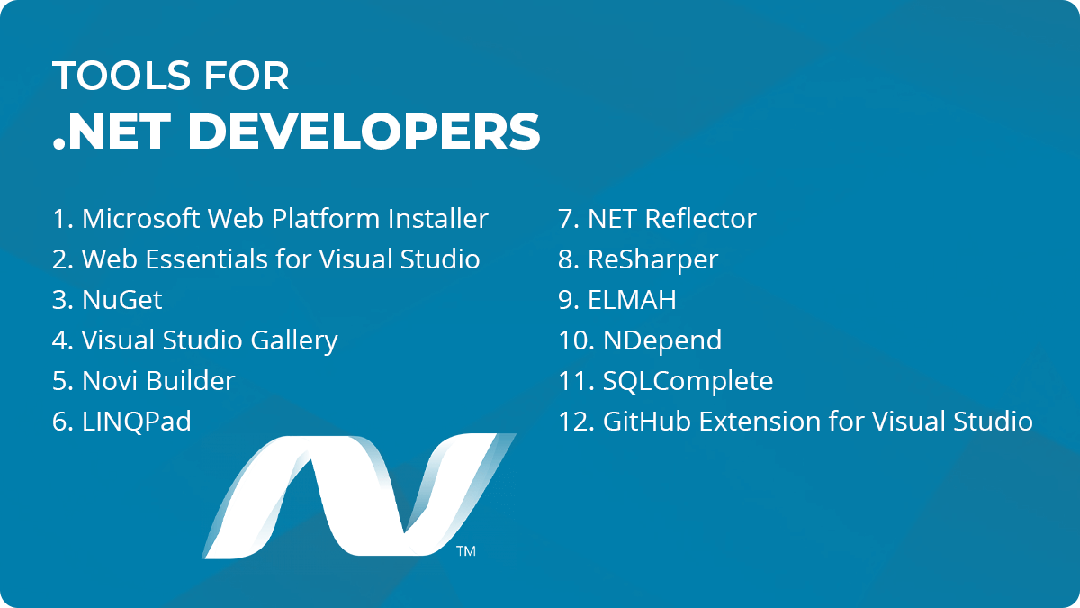 Tools for .net Developers