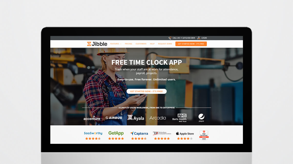 Jibble- Best Productivity Tools For Web Developers
