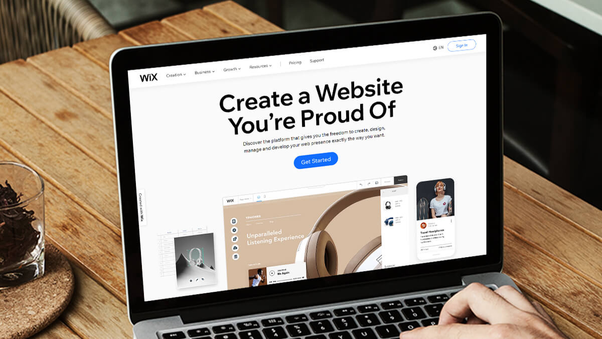 Wix- 15 Free Websites Builder Software For Everyone