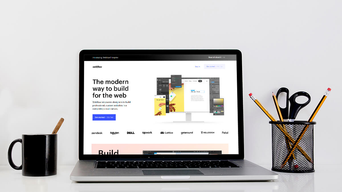 Webflow- 15 Free Websites Builder Software For Everyone