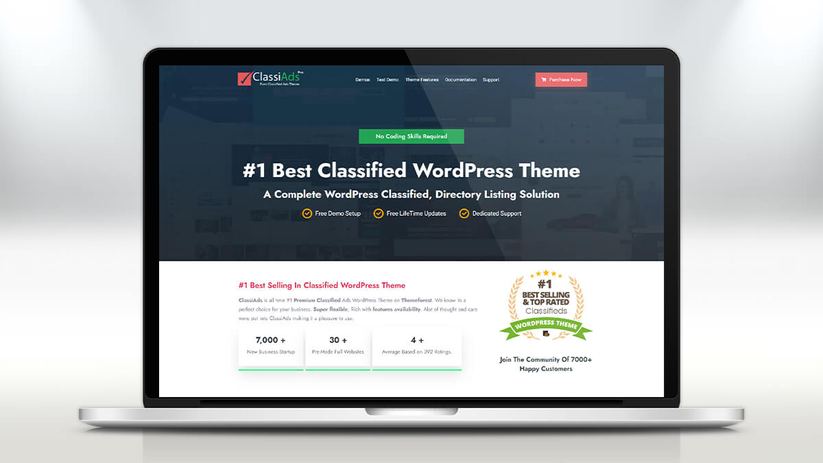 ClassiAds by Design Invento- 11 Best WordPress Classifieds Themes For 2021