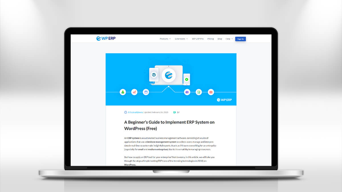 WP ERP- 10 Best WordPress CRM Plugins for 2021