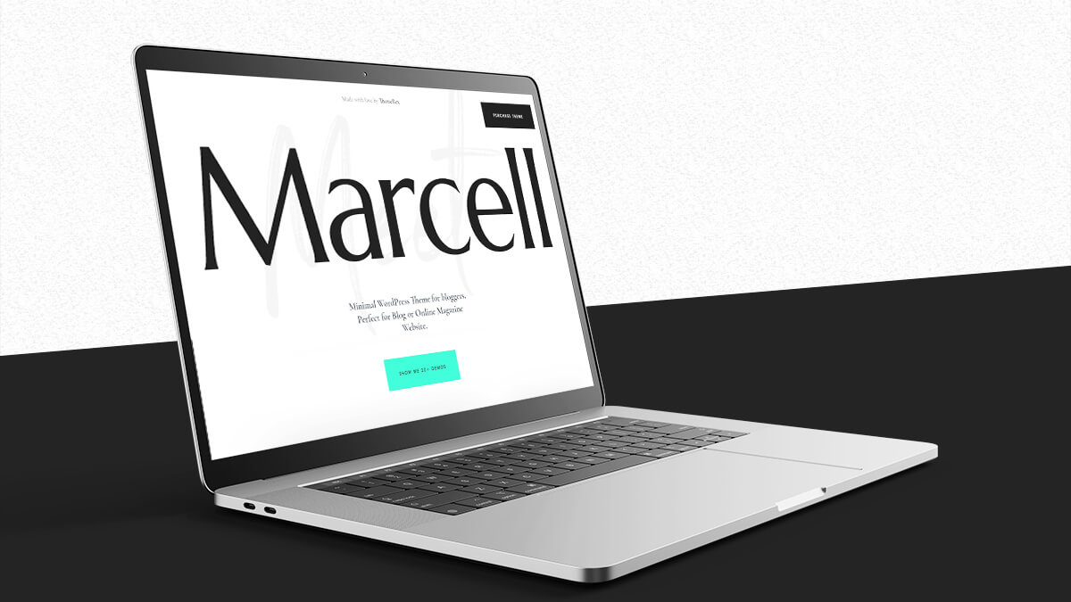 Marcell- WordPress Theme For Travel Blogs In 2021