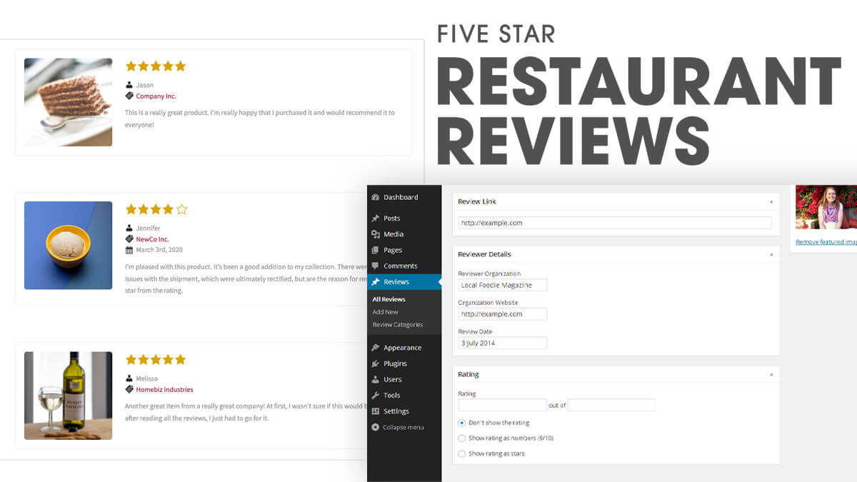 Five Star Restaurant Reviews- 14 Best WordPress Food Ordering Plugins To Try Out In 2021