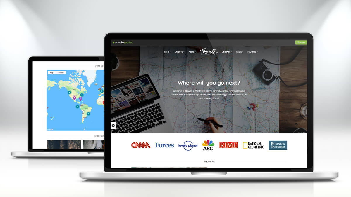 Trawell- WordPress Theme For Travel Blogs In 2021