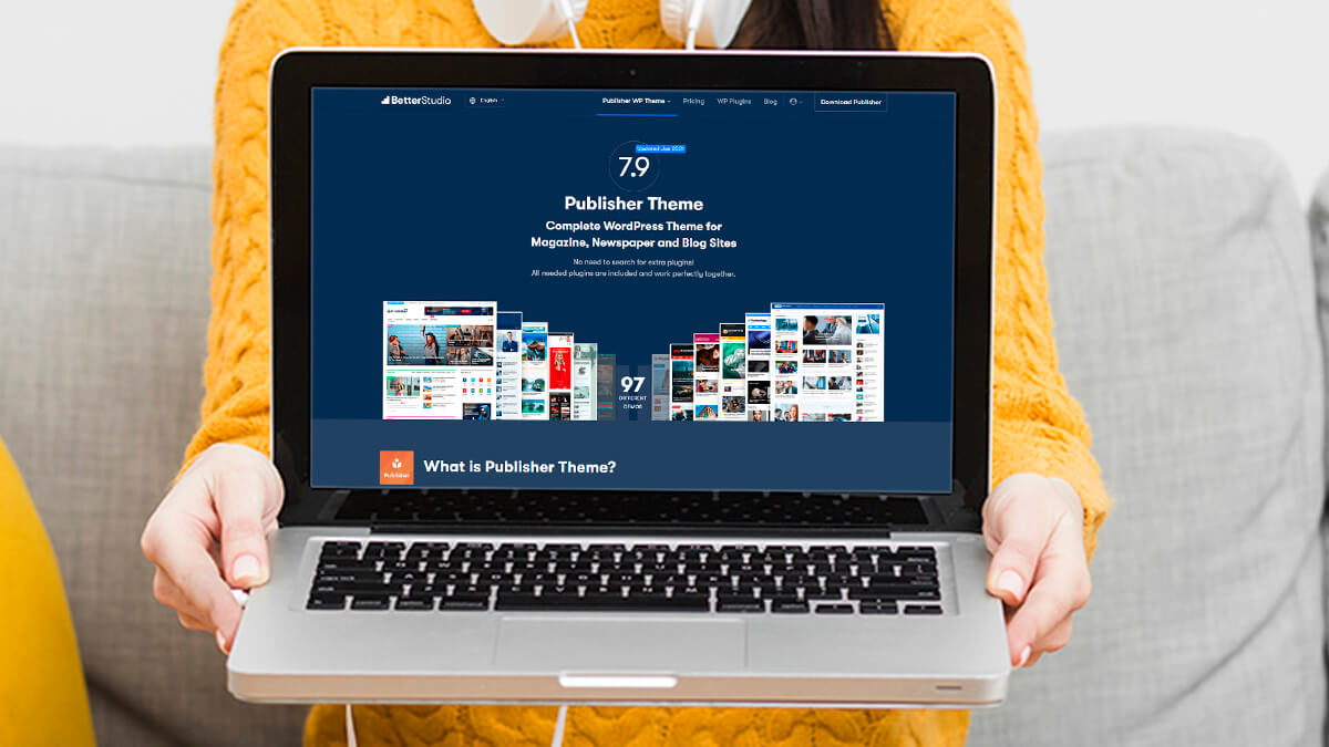 Publisher- WordPress Theme For Travel Blogs In 2021