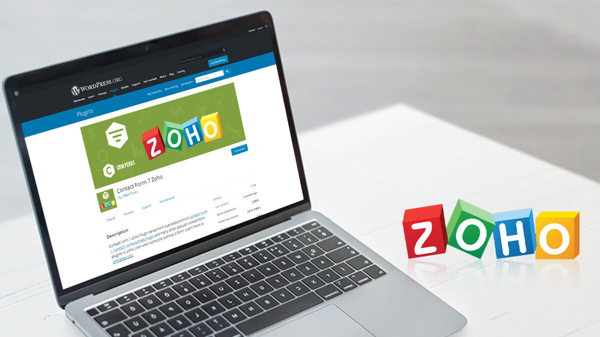 Contact Form 7 Zoho- 10 Best WordPress CRM Plugins for 2021
