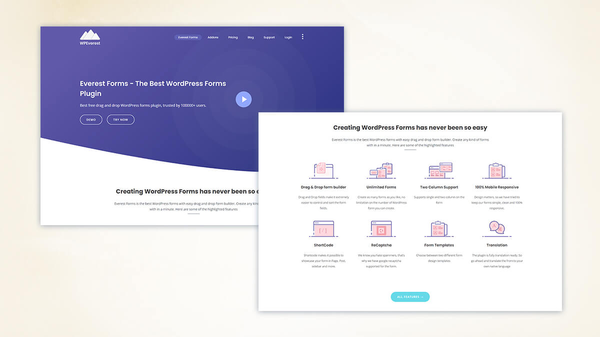 Everest Forms- 7 Best Alternative To Contact Form