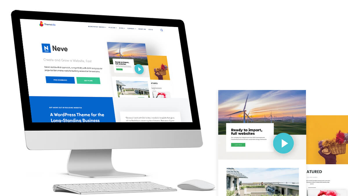 Neve- WordPress Theme For Travel Blogs In 2021