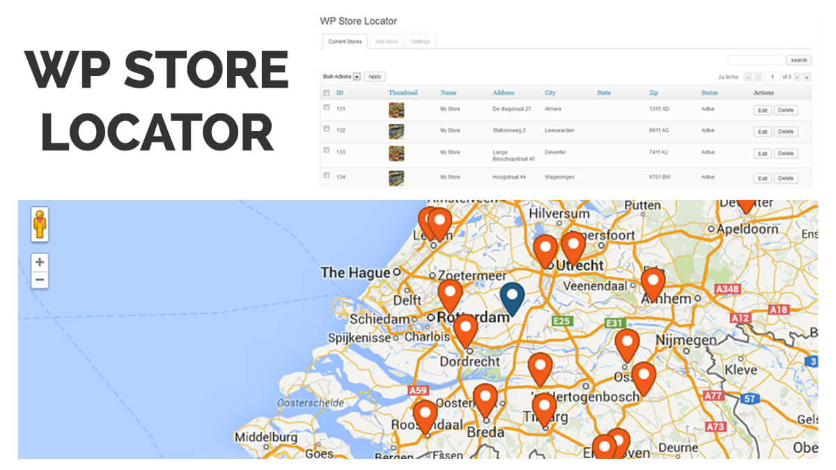 WP Store Locator-14 Best WordPress Food Ordering Plugins To Try Out In 2021