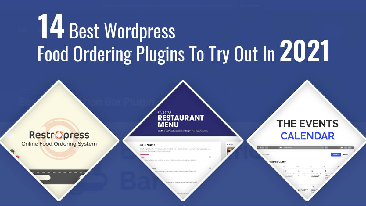 14 Best WordPress Food Ordering Plugins To Try Out In 2021