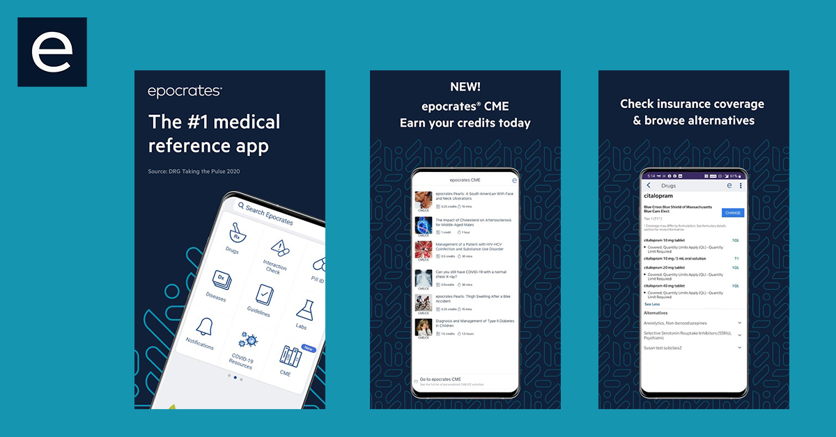 epocrates- 13 Types Of Pharmacy Apps Which Helpful For Everyone