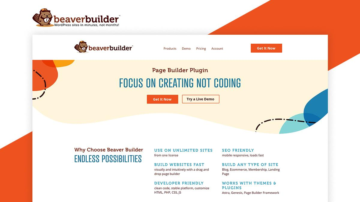 Beaver builder- 8 WordPress Page Builder That Can Help You Build Amazing Websites