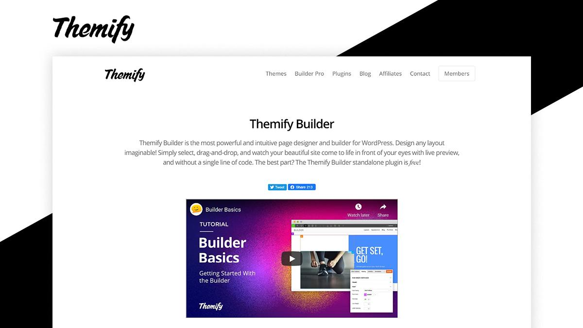 Themify Builder- 8 WordPress Page Builder That Can Help You Build Amazing Websites